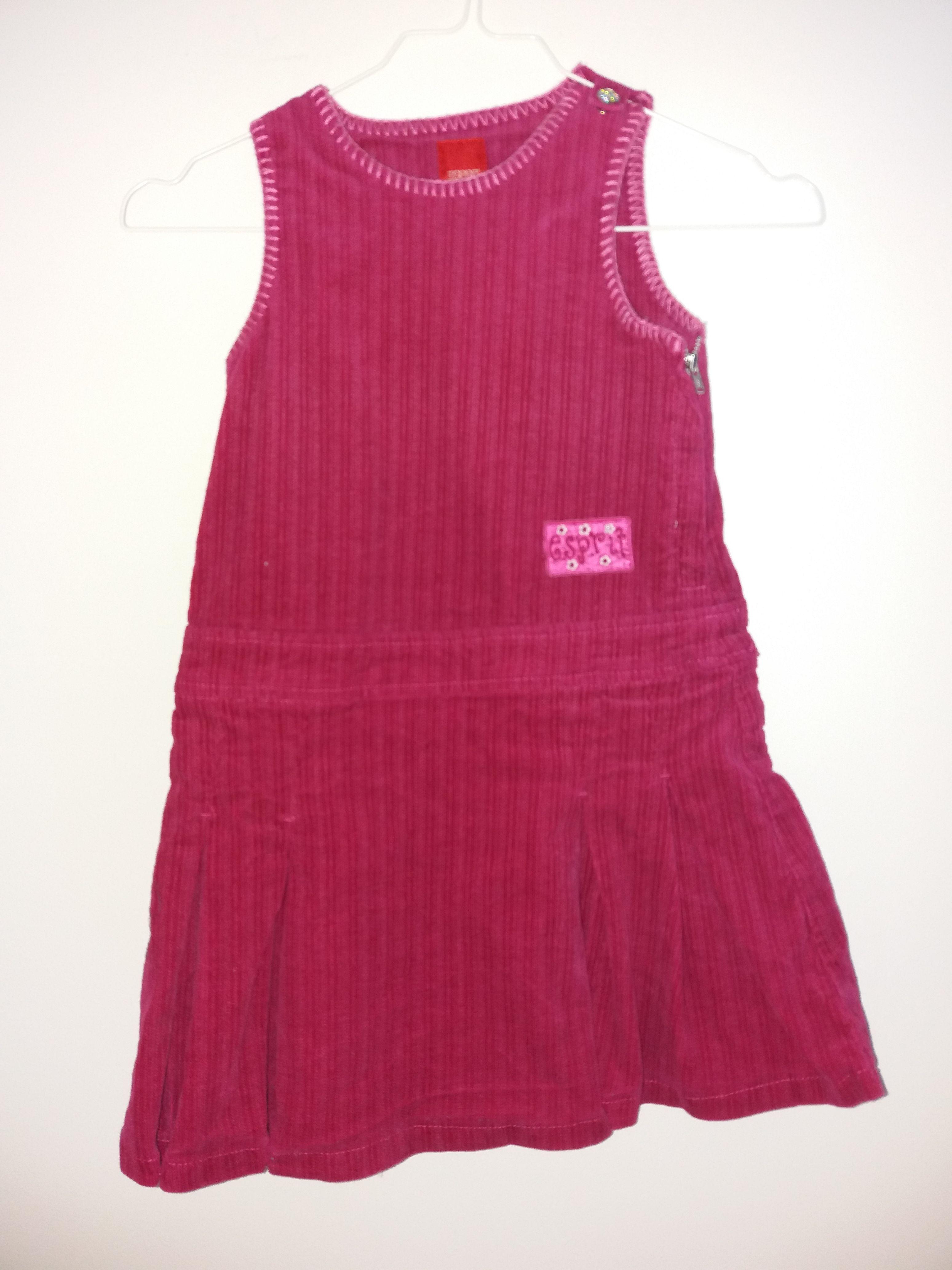 Kleid Cord Gr. 104/110 Esprit