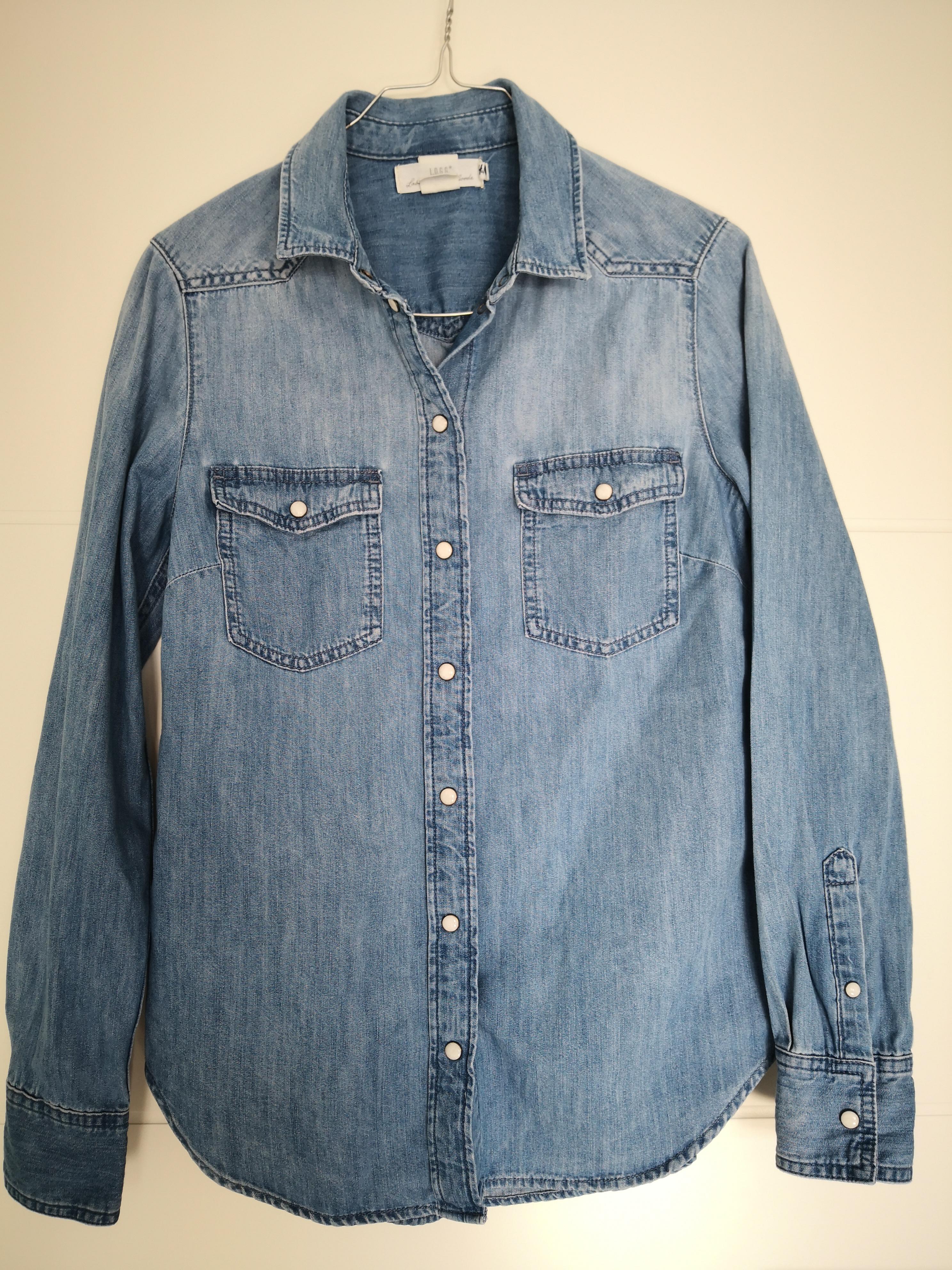 Bluse Jeanshemd Gr. 36 H&M