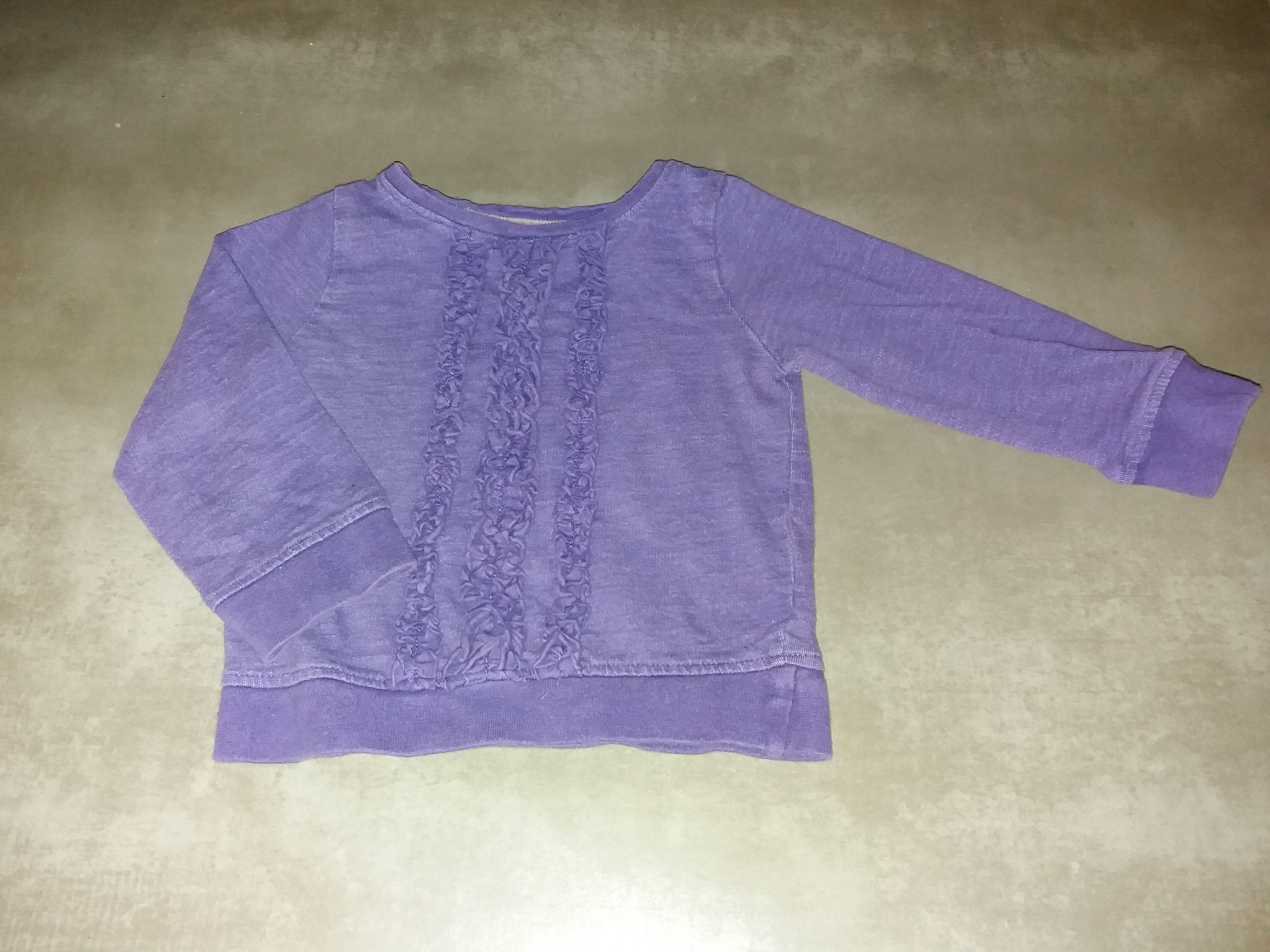Sweatshirt Pullover Gr. 80/86