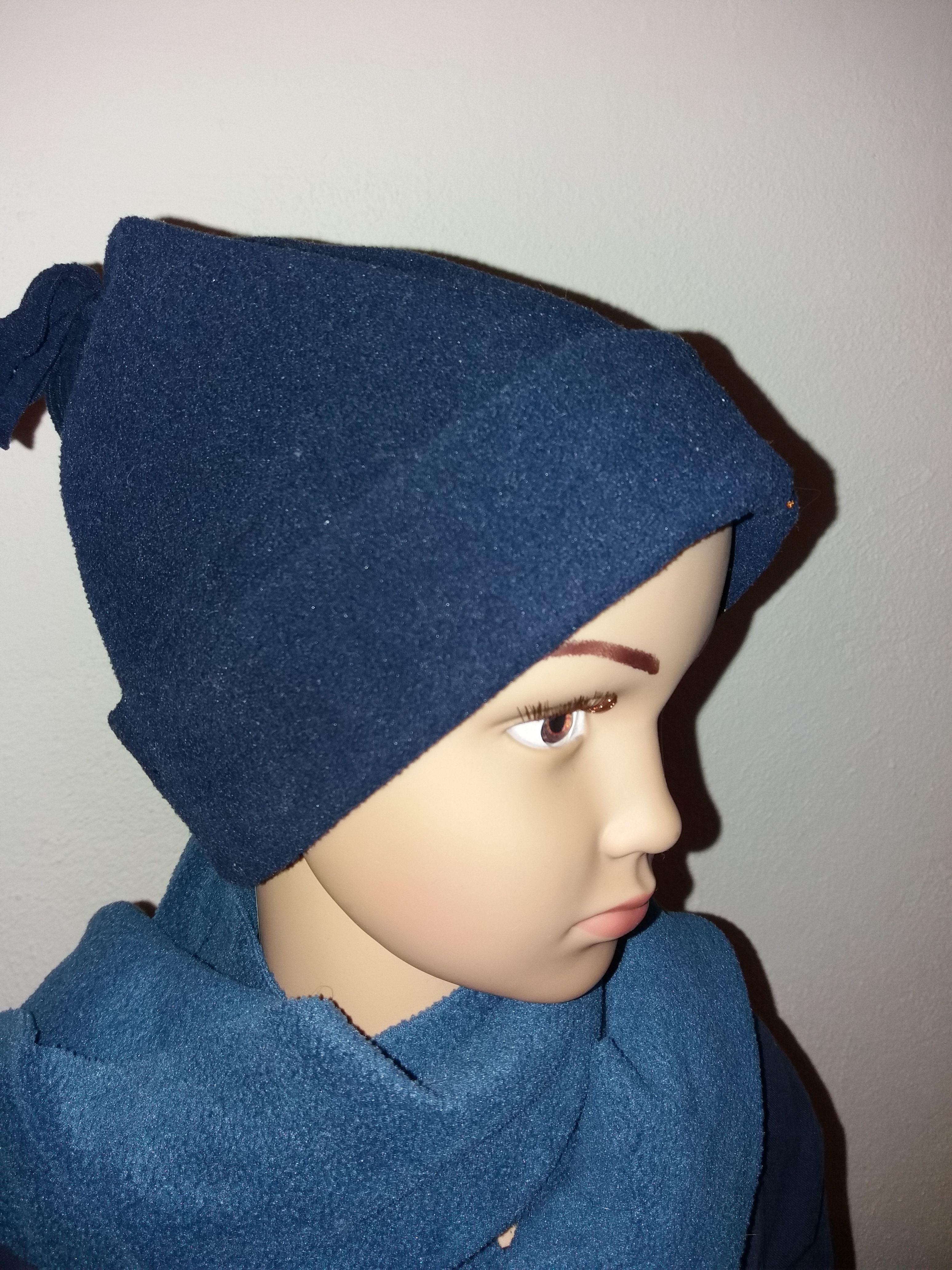 Mütze Fleece  2 bis 4 Jahre