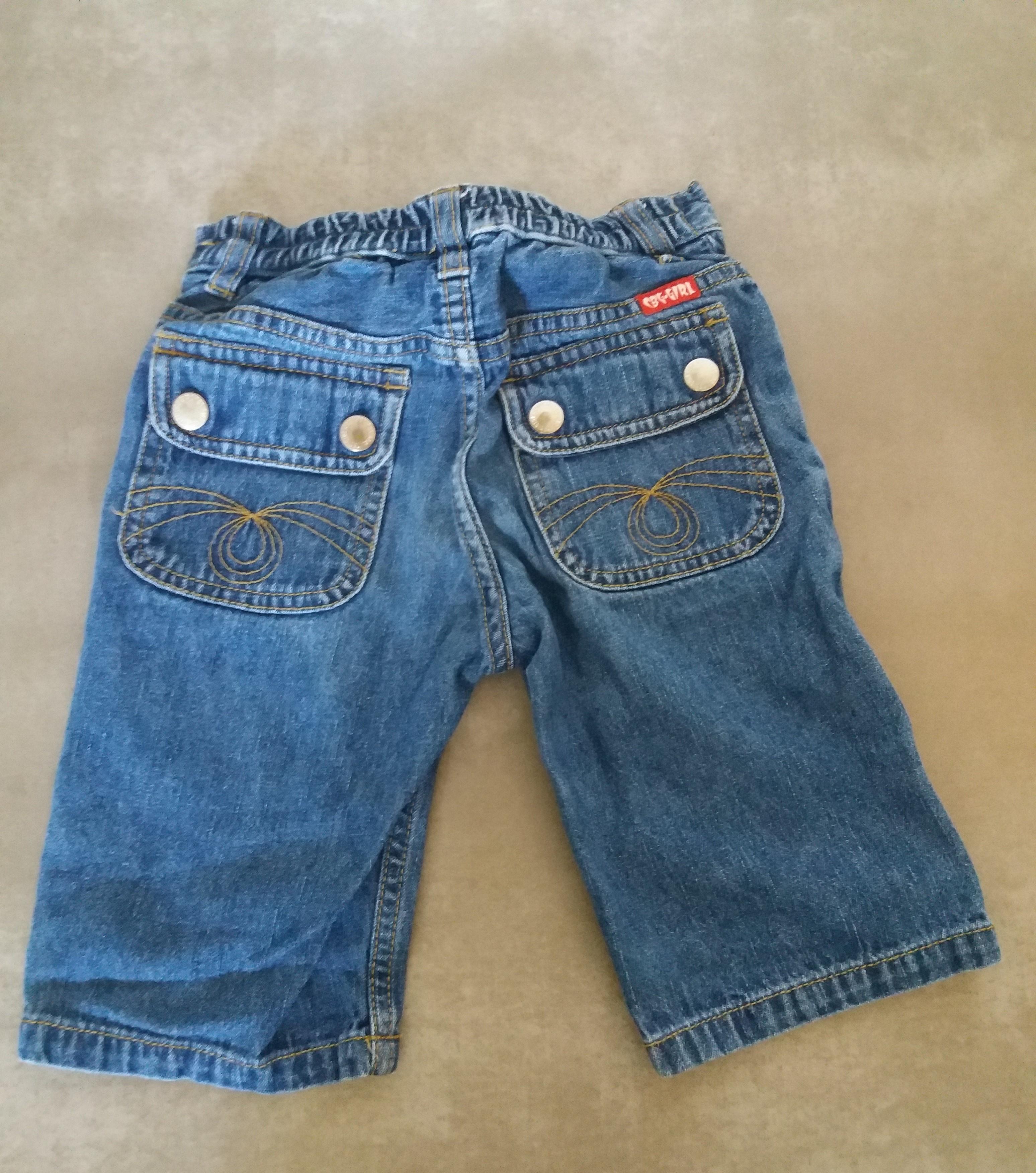 Jeans 3/4 Gr. 98